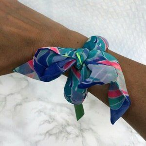 Lilly Pulitzer GWP Fabric Wrapped Bangle Bracelet